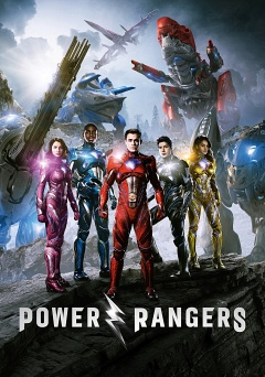 Saban's Power Rangers poster image